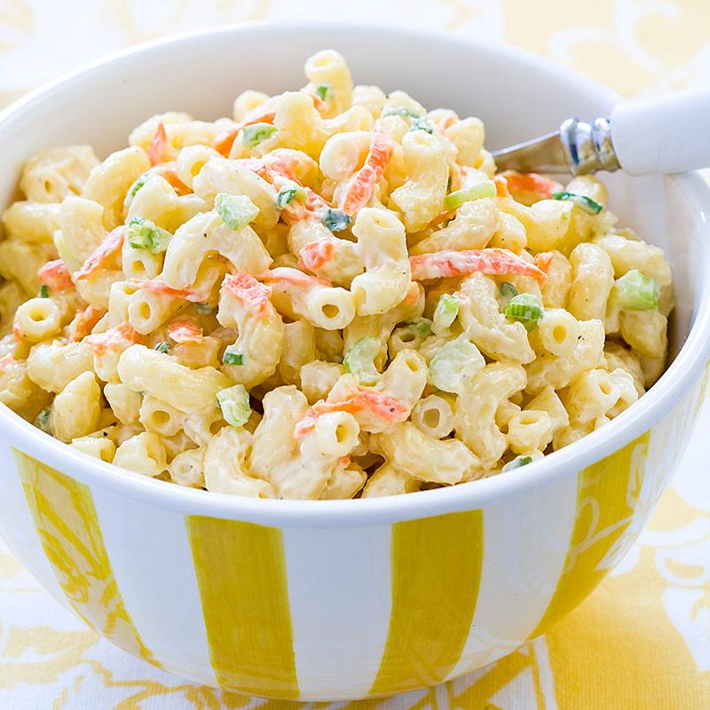 Hawaiian Macaroni Salad Recipe - Cook's Country