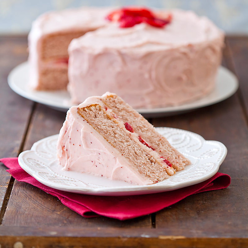 Strawberry Dream Cake Recipe - Cook's Country