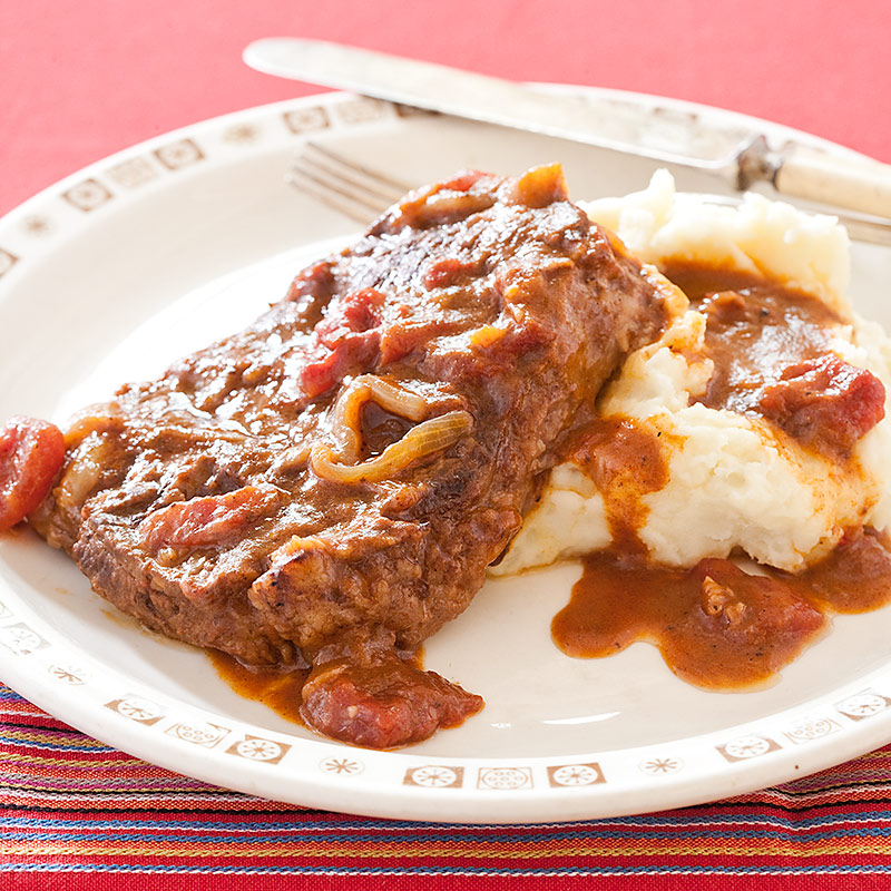 Swiss Steak with Tomato Gravy Recipe - Cook's Country